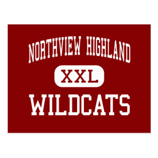 Northview Highland - Wildcats - Grand Rapids Postcard