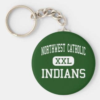 Northwest Catholic - Indians - West Hartford Key Chains