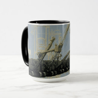 Northwest Crane and Shovel Co. Vintage Equipment Mug
