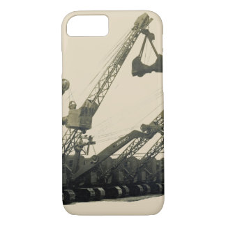 Northwest Crane and Shovel Heavy Equipment Antique iPhone 7 Case