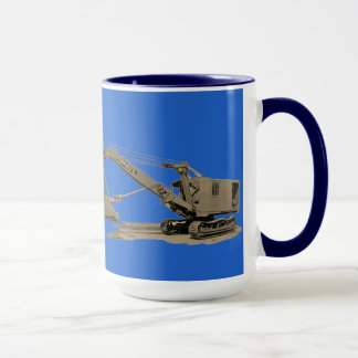 Northwest Crane and Shovel Heavy Equipment Antique Mug