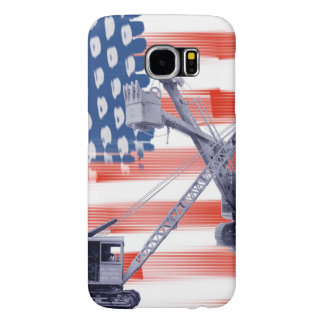 Northwest Crane and Shovel Heavy Equipment Antique Samsung Galaxy S6 Cases