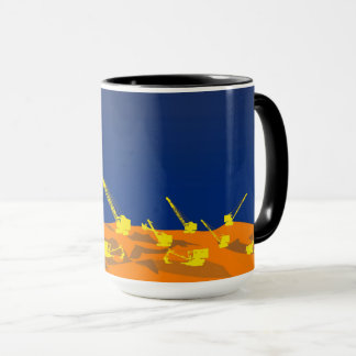Northwest Crane and Shovel OPERATING ENGINEER art Mug