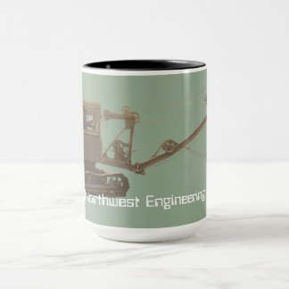 Northwest Crane Crane Operator Early Shovel Mug