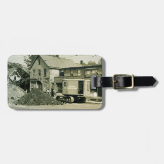 Northwest CRANE OPERATOR MODEL 2 EARLY CLEVELAND Luggage Tag