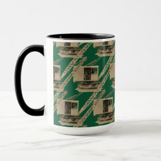NORTHWEST ENGINEERING CRANE OPERATOR CRANE MUG art