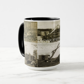 NORTHWEST ENGINEERING CRANE OPERATOR SHOVEL MUG 1
