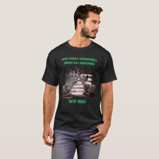 NORTHWEST ENGINEERING GREEN BAY WISCONSIN CRANE T-Shirt