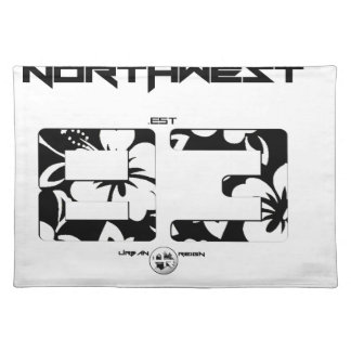 NORTHWEST FLORAL PLACEMAT