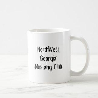 NorthWest Georgia Mustang Club Basic White Mug