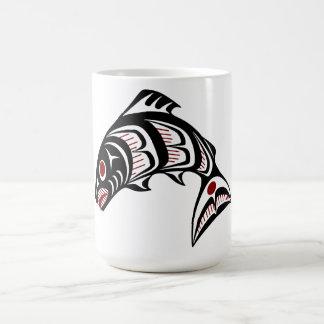 Northwest Pacific coast Haida art Coffee Mugs