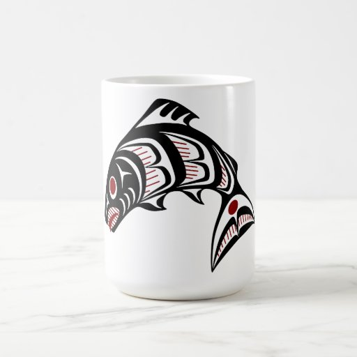 Northwest Pacific coast Haida art Coffee Mugs