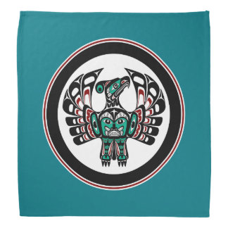 Northwest Pacific coast Haida art Thunderbird Do-rag