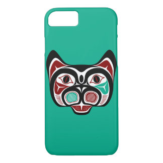Northwest Pacific coast Haida Kitty iPhone 8/7 Case