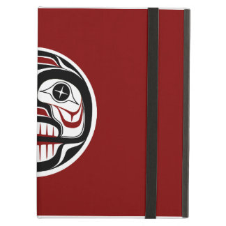 Northwest Pacific coast Haida Weeping skull iPad Air Cases