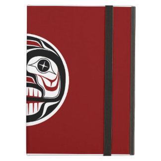 Northwest Pacific coast Haida Weeping skull iPad Air Cover