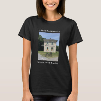Northwest River trail Black women's tee shirt