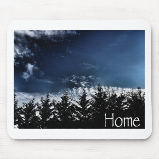 Northwest Skyline Trees Mouse Pad