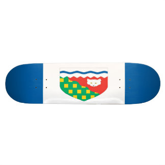 Northwest Territories Flag Skateboard