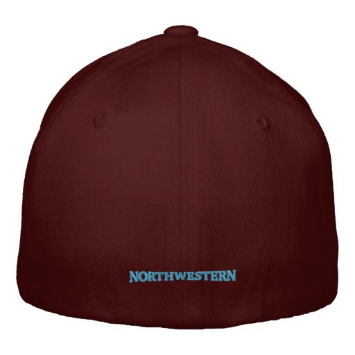 Northwestern Crest Cap Embroidered Hats
