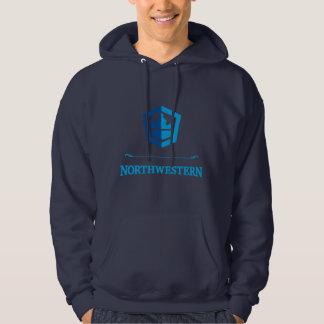 Northwestern Crew Pullover Hoodie