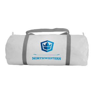 Northwestern Crew - Ready to Board Gym Duffel Bag
