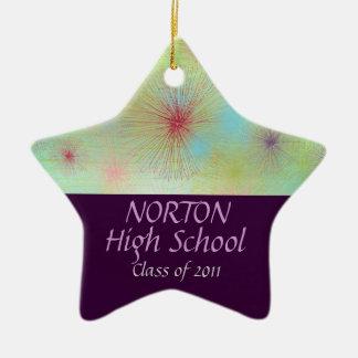 Norton Class of 2011 Star Keepsake Ceramic Star Decoration