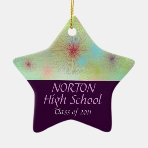 Norton Class of 2011 Star Keepsake Christmas Ornament