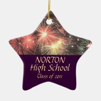 Norton High School Star Keepsake Ceramic Star Decoration