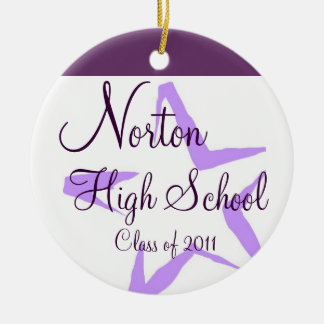 Norton High School Star Keepsake Ornament