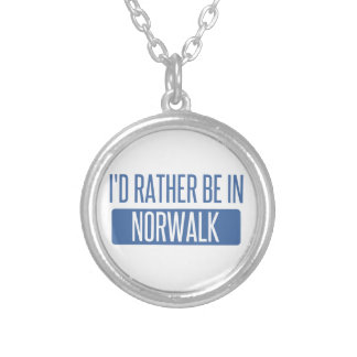 Norwalk CT Silver Plated Necklace