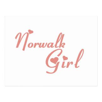 Norwalk Girl tee shirts Postcard