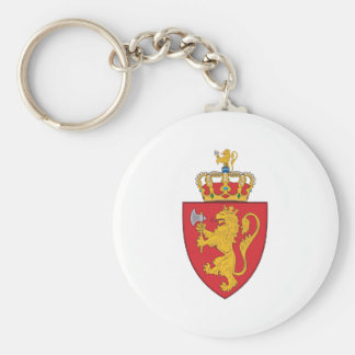 Norway 1905 Coat Of Arms Key Ring