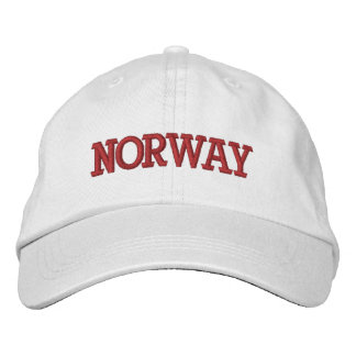 Norway Adjustable Baseball Hat