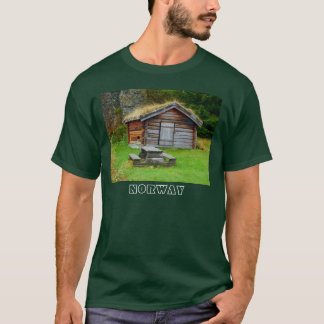 Norway, Agricultural hut in the high pastures T-Shirt