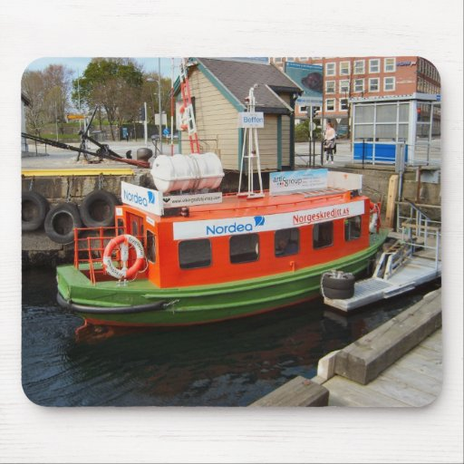 Norway, Bergen,travel by water taxi Mouse Pads