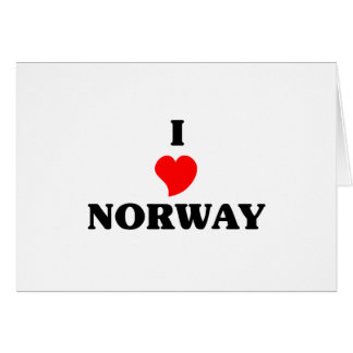 NORWAY GREETING CARDS