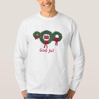 Norway Christmas 2 Tee Shirts