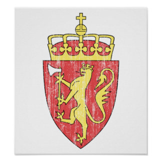 Norway Coat Of Arms Posters