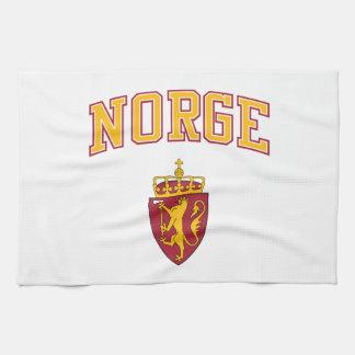 Norway + Coat of Arms Tea Towel