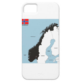 norway country political map flag iPhone 5 cases