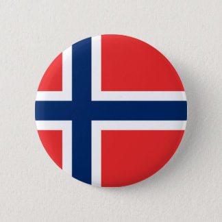 Norway Flag 6 Cm Round Badge