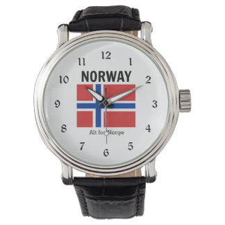 Norway Flag and Motto Watch