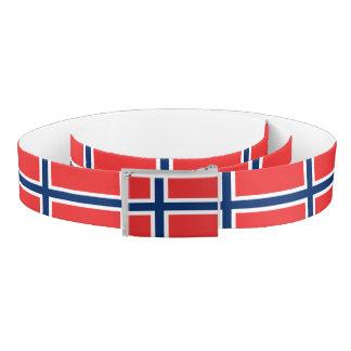 Norway Flag Belt