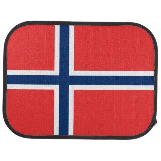 Norway Flag Car Mat