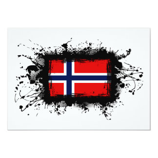 Norway Flag Card