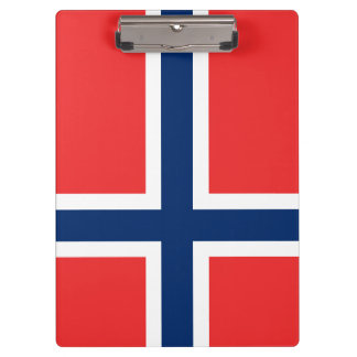 Norway Flag Clipboard