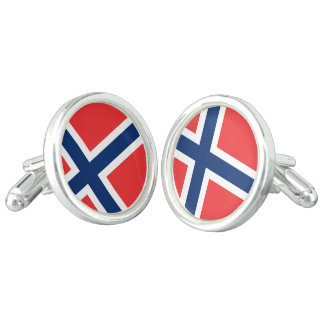 Norway Flag Cufflinks