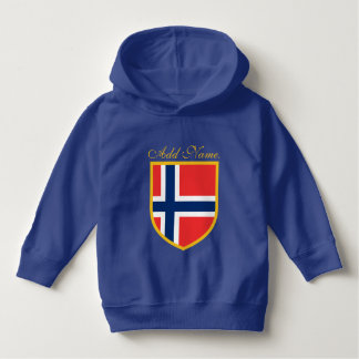 Norway Flag Customized Hoodie