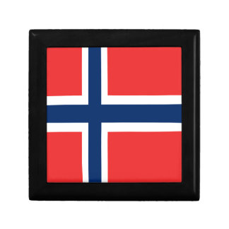 Norway flag design on product gift box